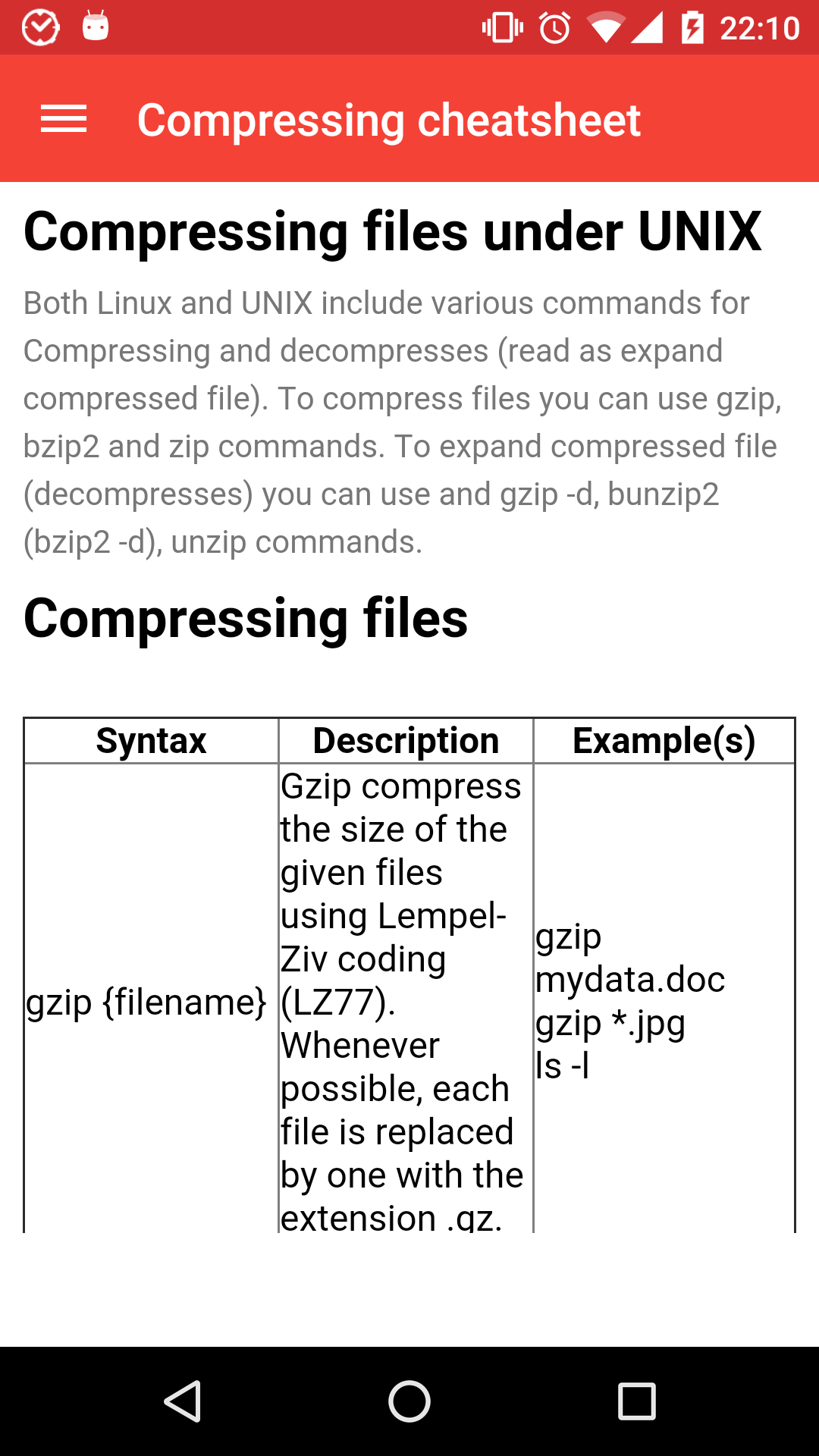 Compress Files In Unix Using Gzip How to gzip and keep
